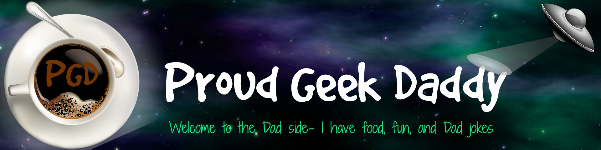 Proud Geek Daddy